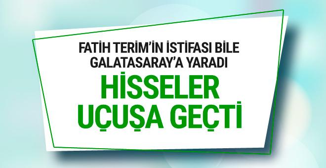 Fatih Terim gitti Galatasaray hisseleri uçuşa geçti