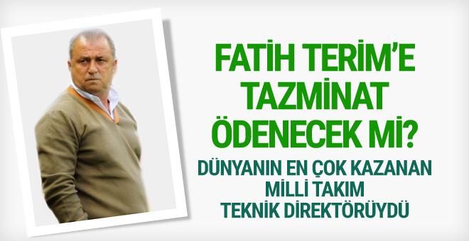Fatih Terim'e tazminat ödenecek mi?