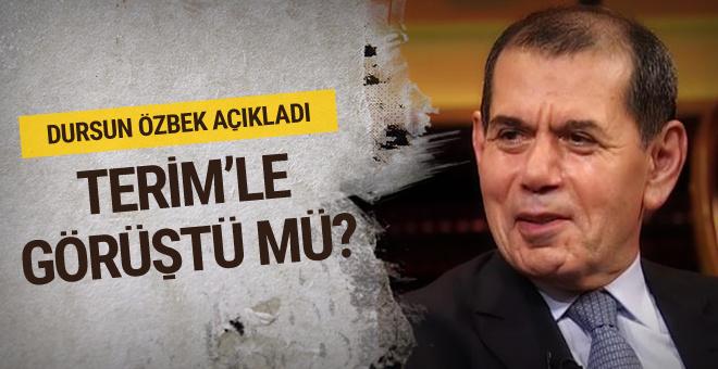 Dursun Özbek'ten flaş Fatih Terim yorumu