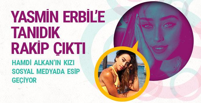 Hamdi Alkan'ın kızı Zeynep, Yasmin Erbil'i seksi pozlarıyla solladı