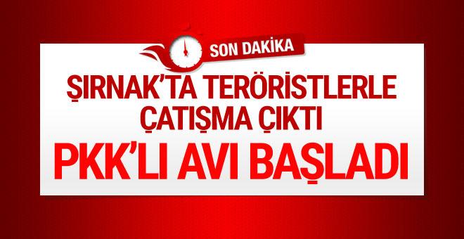 Şırnak'ta çatışma çıktı! Bölge ablukaya alındı