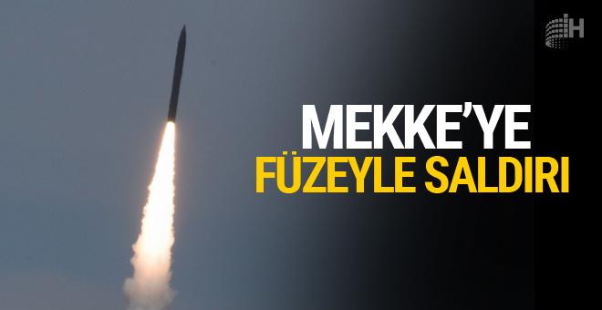 Mekke'ye ikinci balistik füze fırlatıldı