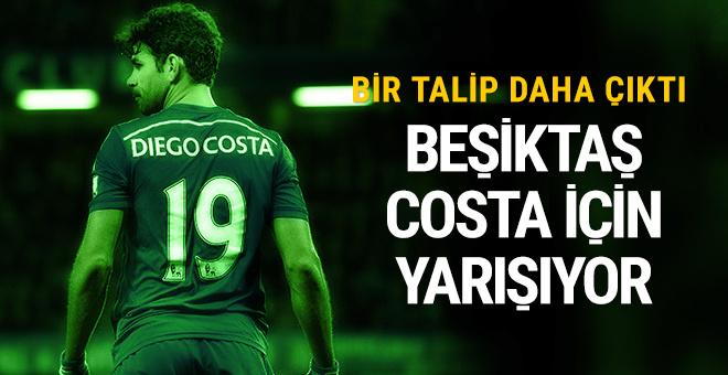 Beşiktaş Diego Costa için savaşıyor