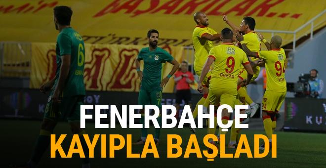 Göztepe-Fenerbahçe maçı golleri ve geniş özeti