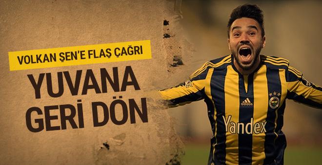 Bursaspor'dan Volkan Şen'e çağrı: Yuvana dön