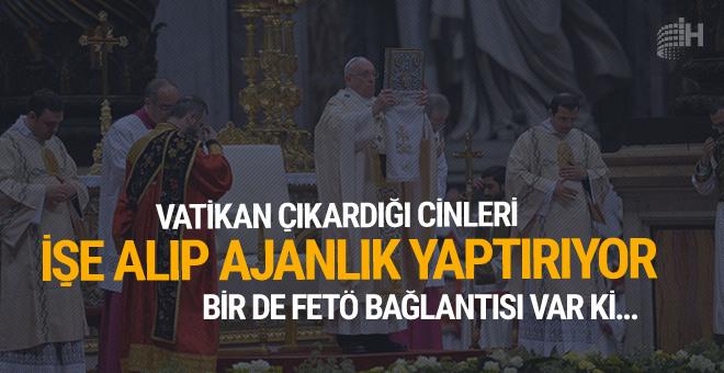 Vatikan çıkardığı cinleri işe alıp ajan olarak kullanıyor!