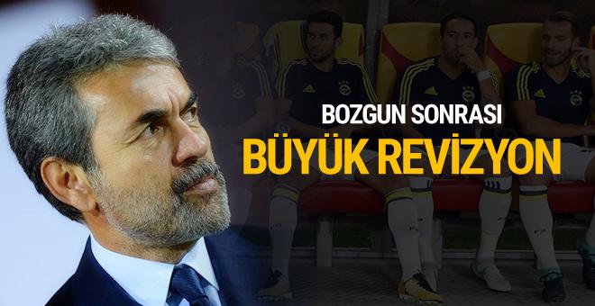 Vardar bozgunu sonrası Fenerbahçe'de kadro revizyonu