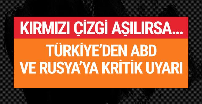 ABD ve Rusya'dan Türkiye'ye kritik ziyaret!