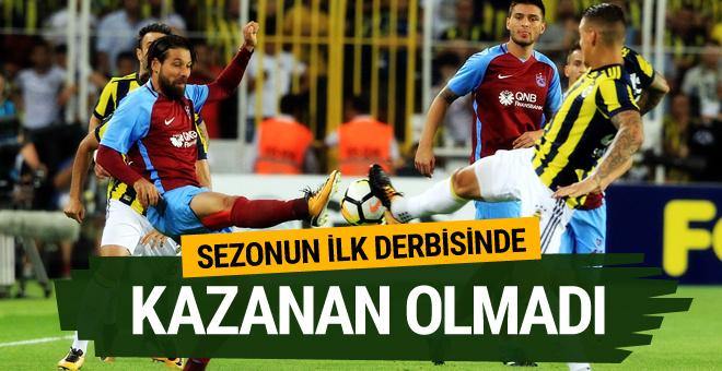 Fenerbahçe-Trabzonspor maçı golleri ve geniş özeti