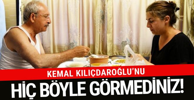 Kemal Kılıçdaroğlu'nu hiç böyle görmediniz!