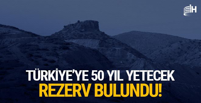 Türkiye'ye 50 yıl yetecek rezerv bulundu!