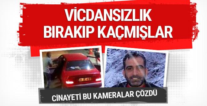 İzmir'deki cinayeti güvenlik kameraları çözdü
