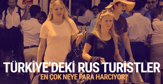 Ruslar, Türkiye'de en çok neye para harcıyor?