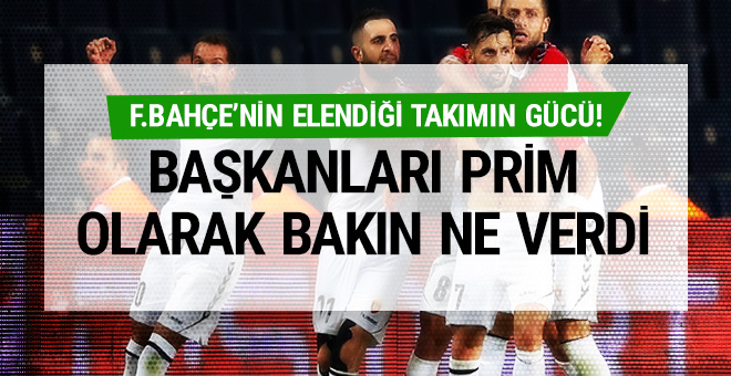Fenerbahçe'yi elemenin ödülü cep telefonu