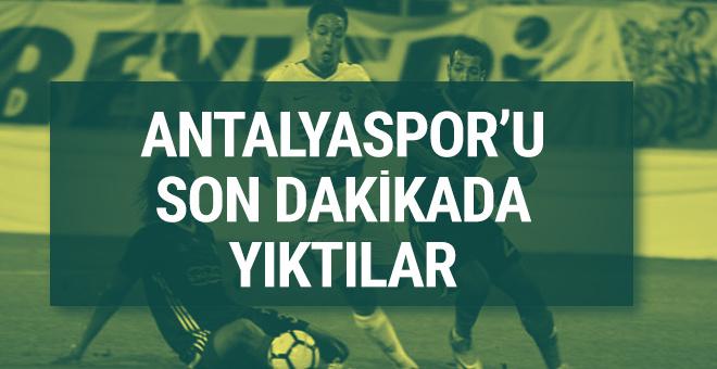 Evkur Yeni Malatyaspor Antalyaspor maçı sonucu ve özeti