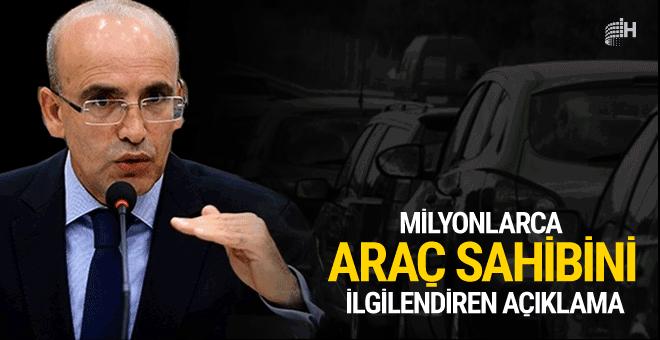 Mehmet Şimşek'ten milyonları ilgilendiren açıklama