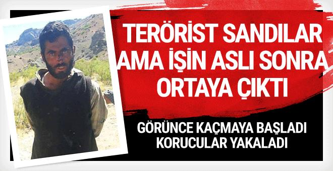 Vatandaşlar terörist sanıp koruculara haber verdi!