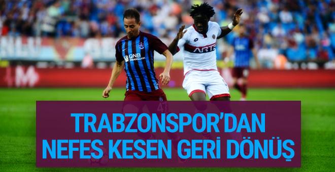 Trabzonspor-Gençlerbirliği maçı golleri ve geniş özeti