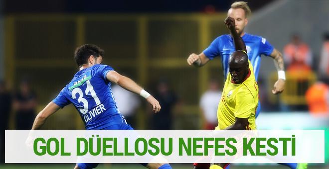 Kasımpaşa - Yeni Malatyaspor maçının golleri ve özeti