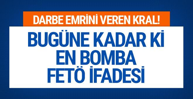 Bugüne kadar ki en bomba FETÖ ifadesi! 'Emri veren kral...'