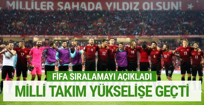 FIFA açıkladı! Türkiye dünya sıralamasında yükselişe geçti