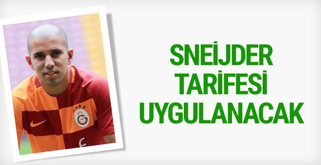 Galatasaray'da Sofiane Feghouli'ye Wesley Sneijder tarifesi