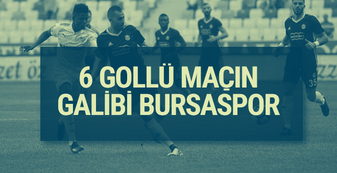 Evkur Yeni Malatyaspor Bursaspor maçı sonucu ve özeti