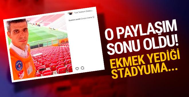 Galatasaray'la alay eden görevli işinden oldu