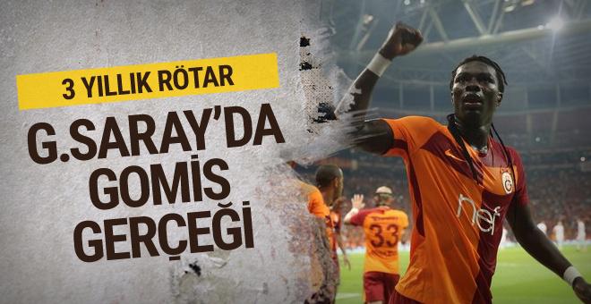Galatasaray'da Gomis gerçeği!