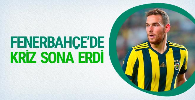 Fenerbahçe'de forvet krizi son buldu