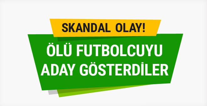 Büyük skandal! Ölü futbolcuya bahis açıldı