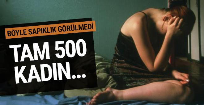 İstanbul'da inanılmaz taciz yöntemi! Tam 500 kadını...