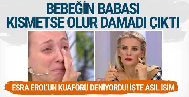 Esra Erol'da Seda'nın bebeğinin babası Murat Özbakan çıktı