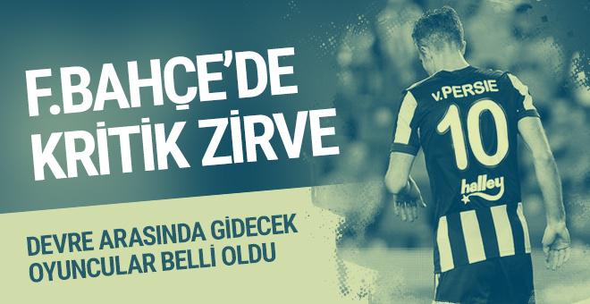 Fenerbahçe'de yolcu listesi belli oldu!
