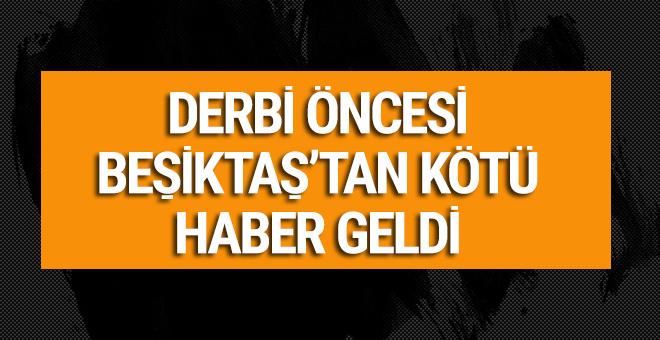 Beşiktaşlı futbolcuda yırtık tespit edildi!