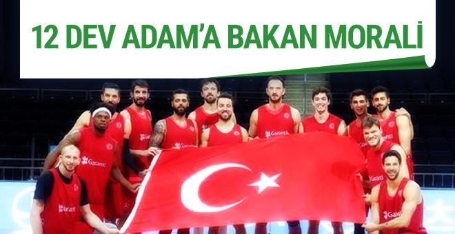 Gençlik ve Spor Bakanı Osman Bak'tan 12 Dev Adam'a destek
