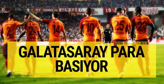 Galatasaray para basıyor