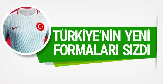 Türkiye'nin yeni formaları sızdı