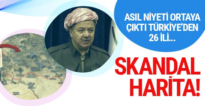 Barzani'nin asıl niyeti buymuş! Türkiye'den 26 il...