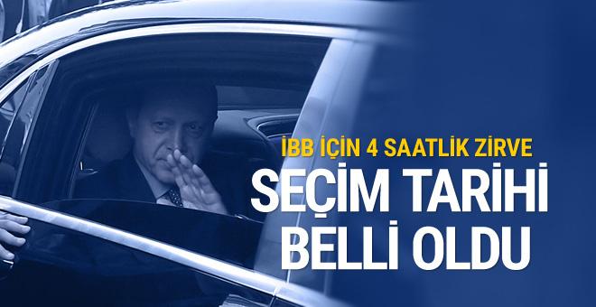 İstanbul için seçim tarihi belli oldu