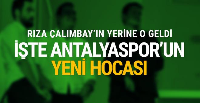 İşte Antalyaspor'un yeni hocası!