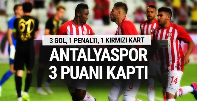 Antalyaspor - Osmanlıspor maçı sonucu ve özeti