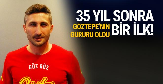 Sabri Sarıoğlu Göztepe'nin gururu oldu