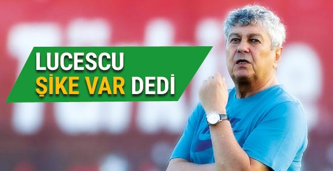 Lucescu Ukrayna maçında şike olduğunu düşünüyor