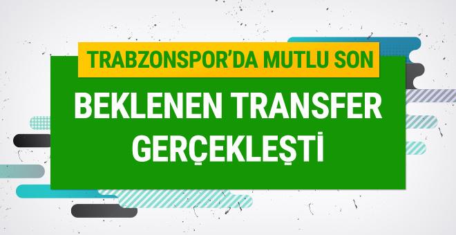 Trabzonspor Sosa transferinde mutlu sona ulaştı