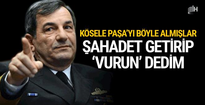 Oramiral'in koruması anlattı: