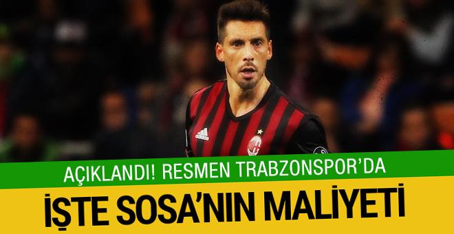 Trabzonspor Sosa'yı resmen açıkladı