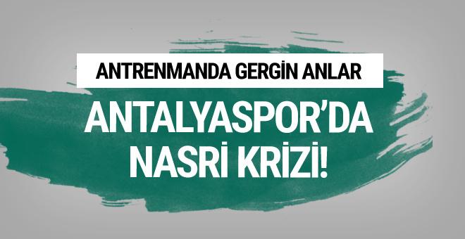 Antalyaspor'da Samir Nasri krizi!