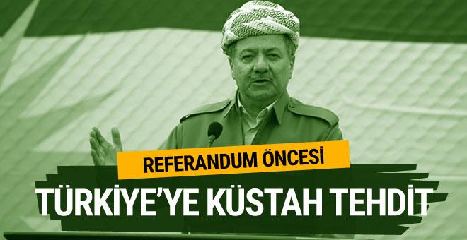 Referandum öncesi Barzani'den tehdit gibi açıklama
