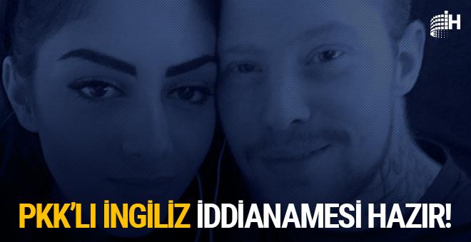 PKK'lı İngiliz'in iddianamesi kabul edildi, hapis cezası isteniyor!